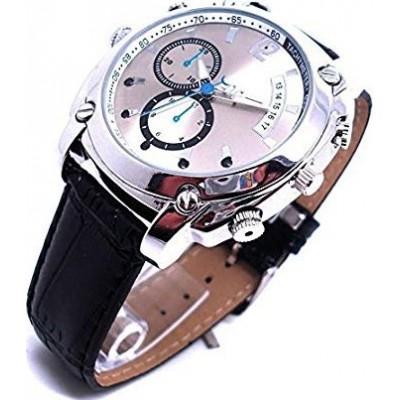 Relojes de Pulsera Espía Reloj espía con cámara multifunción. 16G. HD 1080P. Vision nocturna. Recargable. Operación fácil