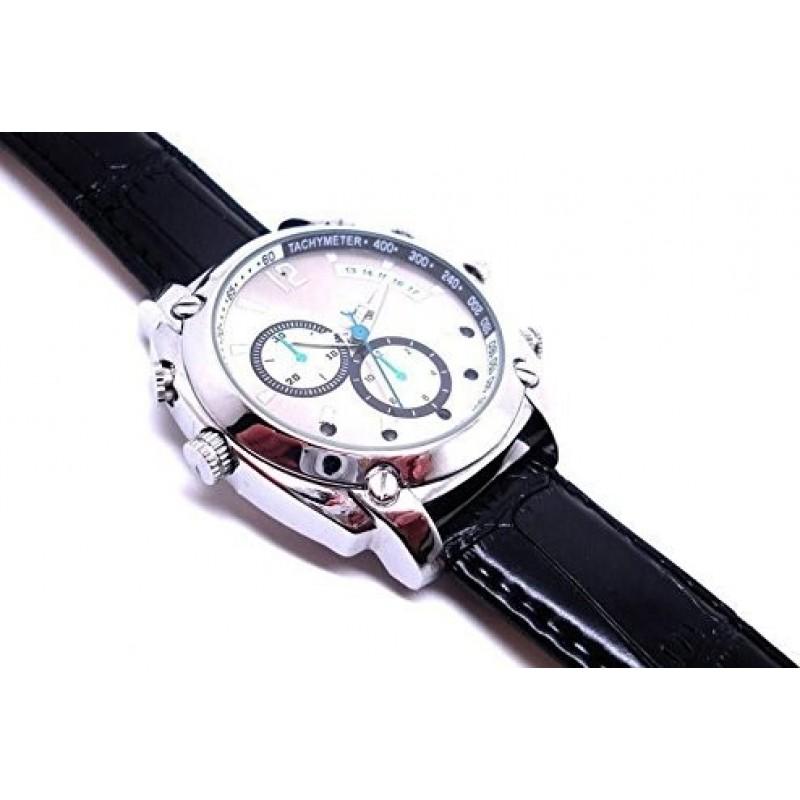 Шпионские наручные часы Шпионская многофункциональная камера-часы. 16G. HD. 1080P. Ночное видение. Перезаряжаемый. Простота в эксплуатации