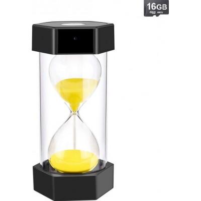 56,95 € Envoi gratuit | Accessoires Espion Horloge de sable avec caméra espion. HD 1080P. Caméra cachée. Fonction de vision nocturne (avec carte 16G)