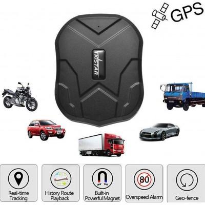 66,95 € Envio grátis | Gadgets Espiões Ocultos Dispositivo de rastreamento GPS oculto. Carro de alarme. À prova d'água. Tempo real. Anti-roubo. Ímã forte
