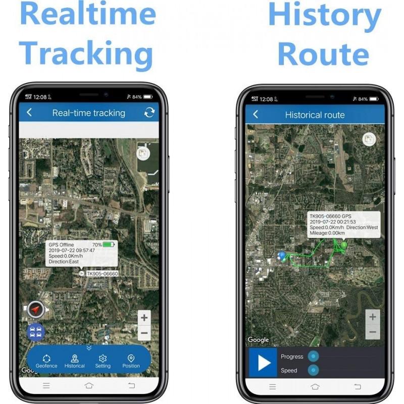 66,95 € Envoi gratuit | Gadgets Espion Dispositif de suivi GPS caché. Voiture d'alarme. Imperméable. Temps réel. Antivol. Aimant Fort