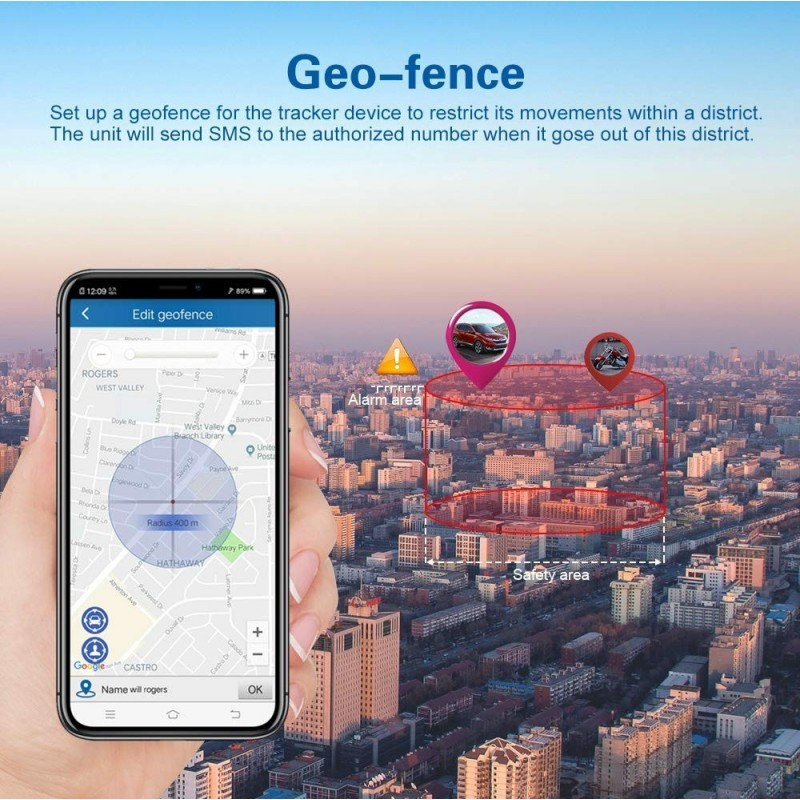 66,95 € Free Shipping | Hidden Spy Gadgets Hidden GPS Tracking device. Alarm Car. Waterproof. Real Time. Anti Theft. Strong Magnet