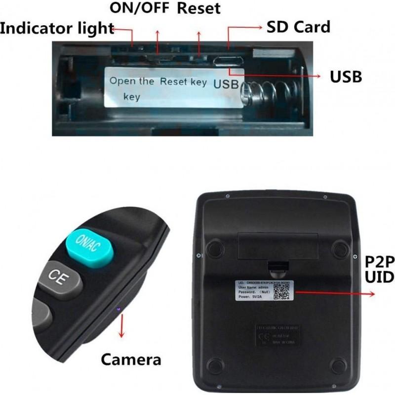 66,95 € Free Shipping | Hidden Spy Gadgets Calculator with WiFi Camera. HD. Hidden Camera. Wireless Spy Camera. Video Recorder. Motion Detection