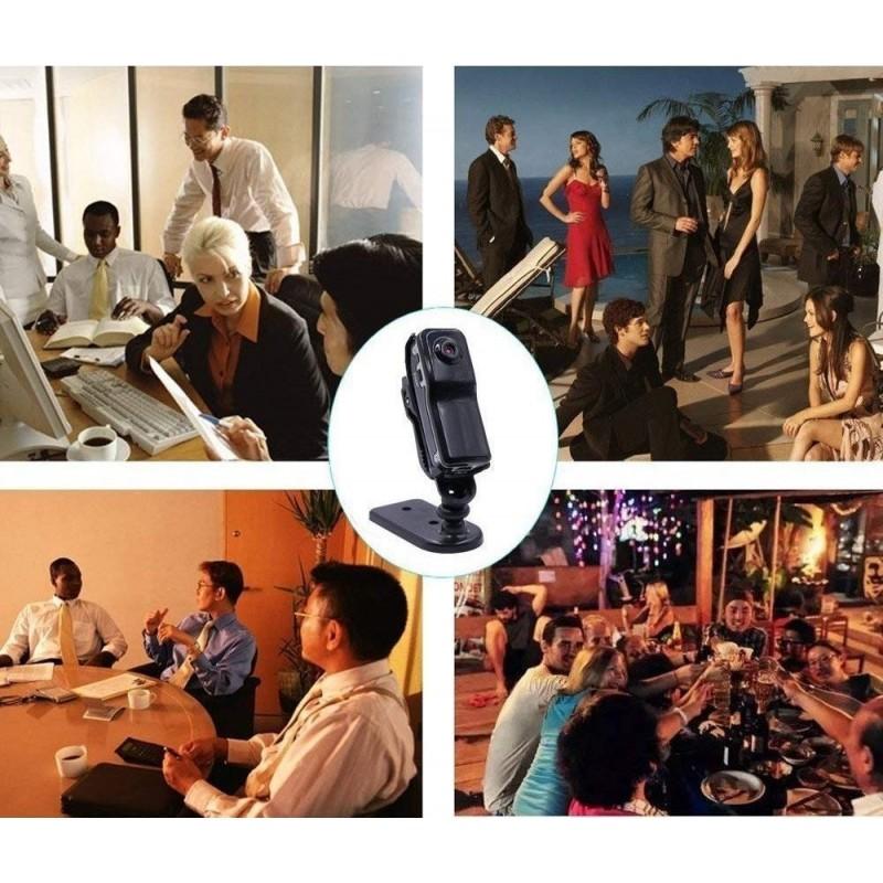 37,95 € Spedizione Gratuita   Altre Telecamere Nascoste Super Mini Webcam. Videoregistratore audio. Videocamera DV DVR. Sostieni gli sport. Bicicletta. Motociclo