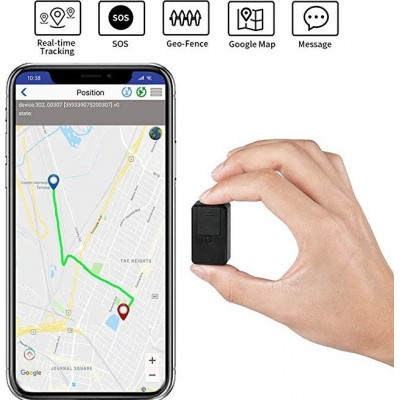 41,95 € Free Shipping | Other Hidden Cameras Location Tracker. GPS. Portable. SOS. 2G. Real Time. Magnetic. Vehicles. Kids. Pets