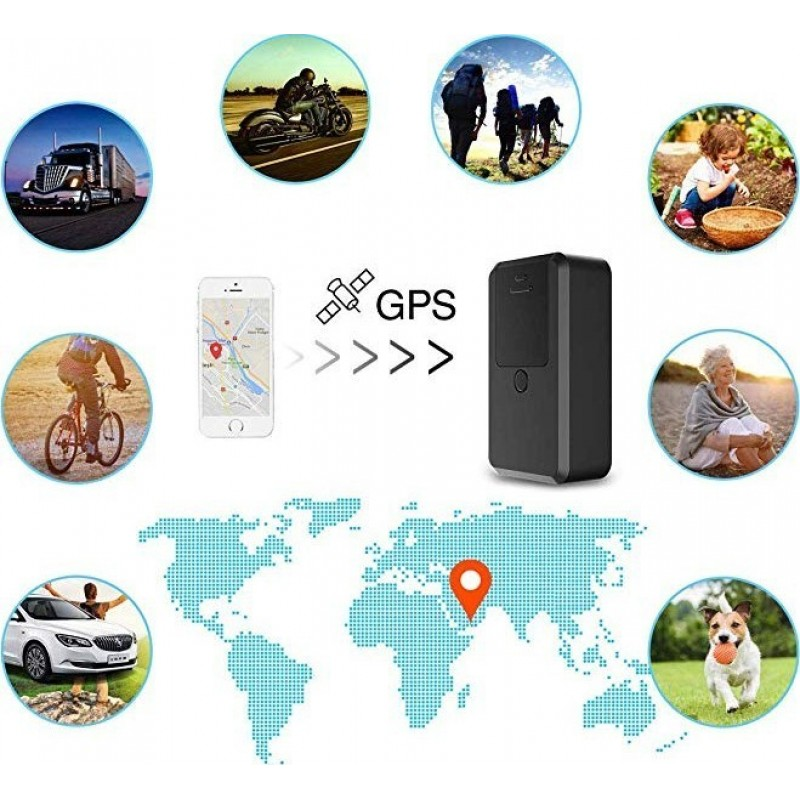 41,95 € Envoi gratuit | Autres Caméras Espion Traqueur d'emplacement. GPS. Portable. SOS. 2G. Temps réél. Magnétique. Véhicules. Des gamins. Animaux domestiques