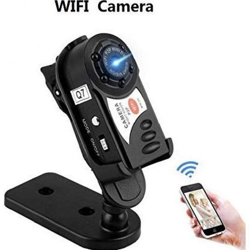 39,95 € Envoi gratuit | Autres Caméras Espion Caméra espion. DVR. Sans fil. Caméra IP Caméscope Mini Espia. Wifi. Enregistreur Infrarouge Night Vision