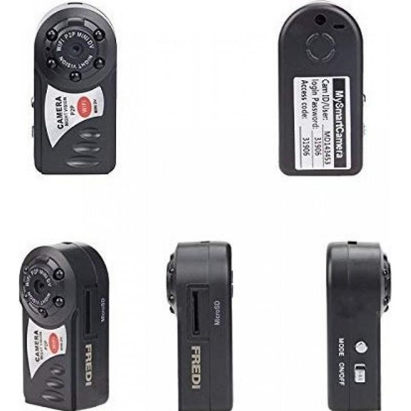 39,95 € Бесплатная доставка   Другие скрытые камеры Шпионская камера. DVR. Wireless. IP Cam. Мини Эспиа Видеокамера. Вай-фай. Регистратор инфракрасного ночного видения