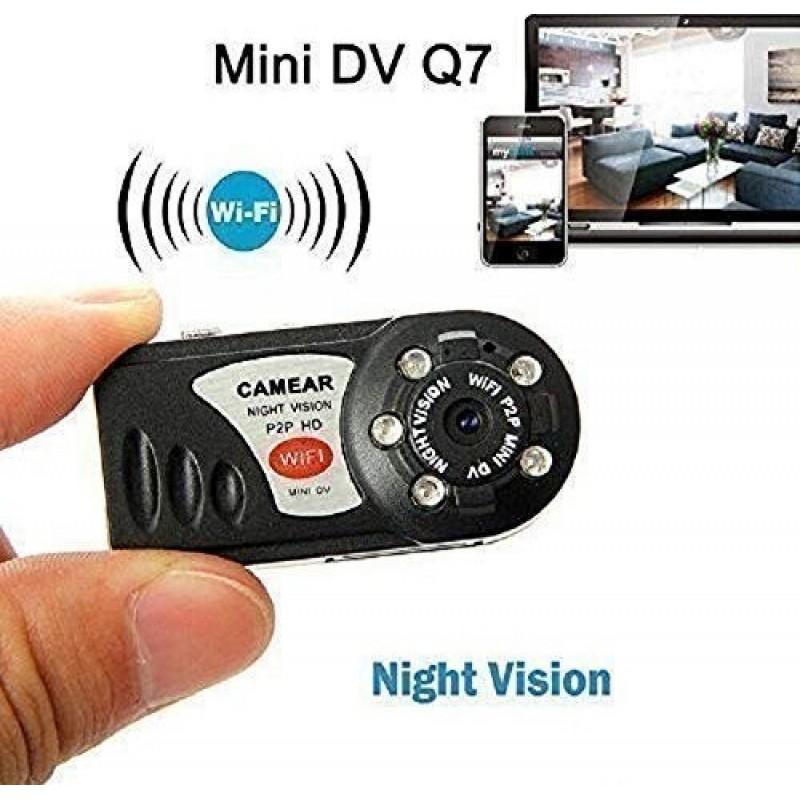 Mini SPY Camera Wireless WiFi IP Security Night Vision Video Recorder DVR Cam DV