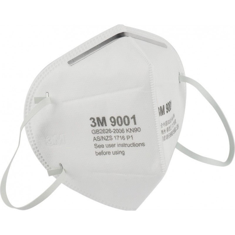 79,95 € Бесплатная доставка | Коробка из 10 единиц Респираторные защитные маски 3M Модель 9001. FFP1 KN90. Респираторная защитная маска. Складная антипылевая маска. PM2.5. Анти-Туманная Маска. Защитная маска