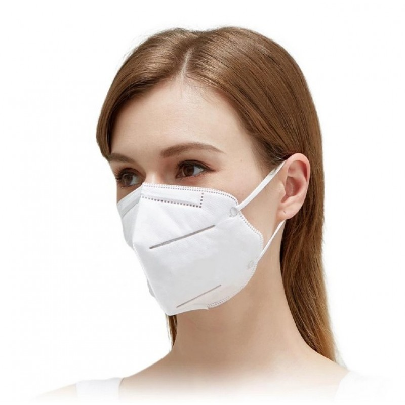50 Einheiten Box Atemschutzmasken KN95 95% Filtration. Atemschutzmaske. PM2.5. Fünf-Schichten-Schutz. Anti-Infektions-Virus und Bakterien
