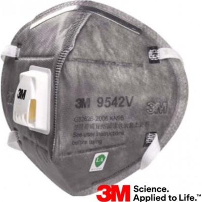685,95 € 送料無料 | 100個入りボックス 呼吸保護マスク 3M 9542V KN95 FFP2。バルブ付き呼吸保護マスク。 PM2.5粒子フィルターマスク