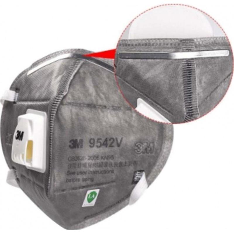 599,95 € Envío gratis   Caja de 100 unidades Mascarillas Protección Respiratoria 3M 9542V KN95 FFP2. Mascarilla de protección respiratoria autofiltrante con válvula. Respirador de filtro de partículas PM2.5