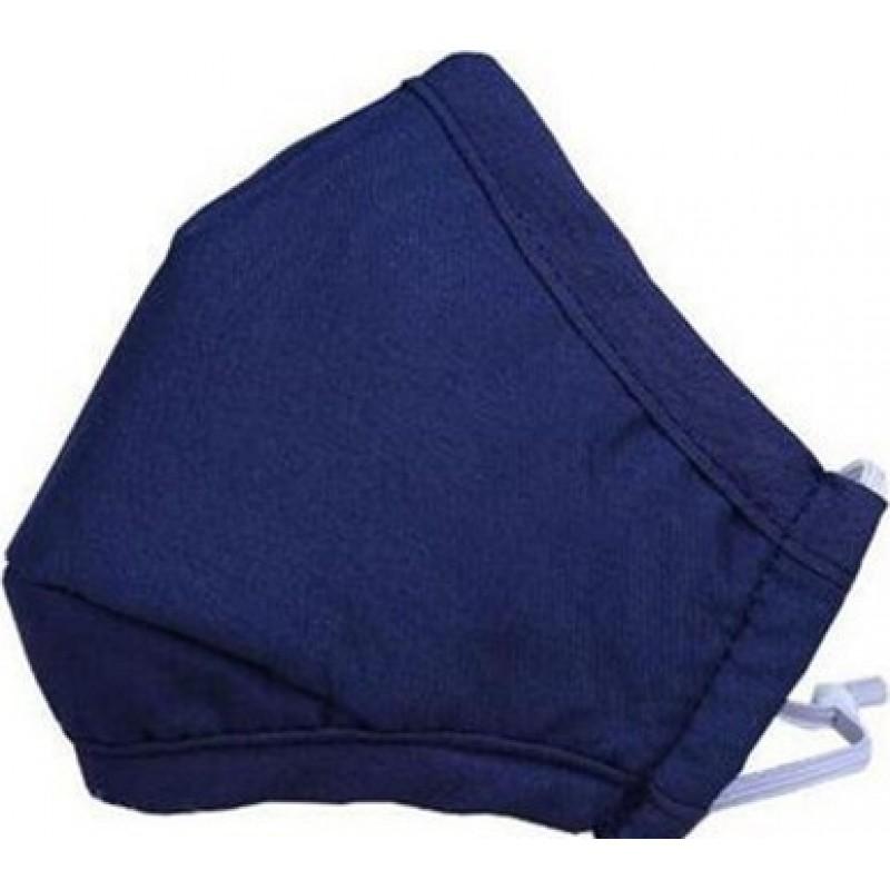 Caixa de 10 unidades Máscaras Proteção Respiratória Cor azul. Máscaras reusáveis da proteção respiratória com os filtros do carvão vegetal de 100 PCes