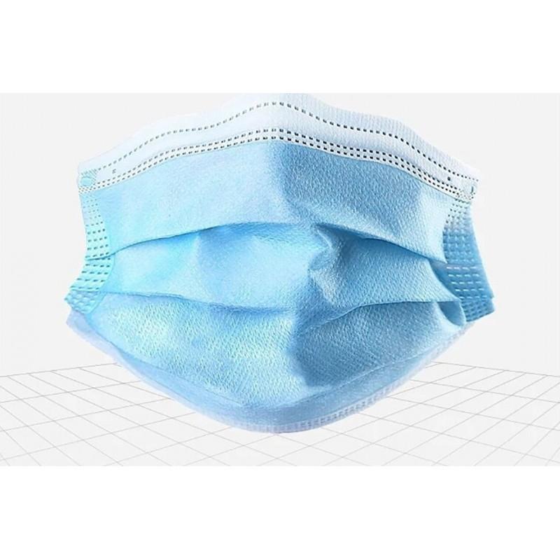 99,95 € Envio grátis | Caixa de 500 unidades Máscaras Proteção Respiratória Máscara descartável de crianças. Proteção respiratória. 3 camadas. Anti-gripe. Respirável macio. Material não tecido. PM2.5