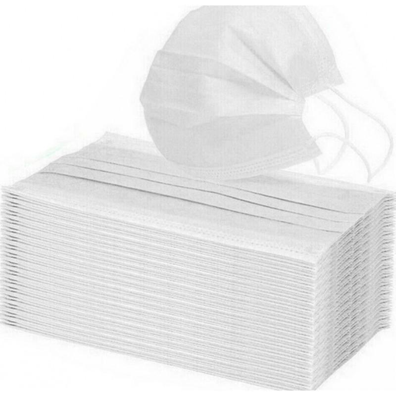 159,95 € Бесплатная доставка | Коробка из 1000 единиц Респираторные защитные маски Детская одноразовая маска. Защита органов дыхания. 3 слоя Анти-грипп. Мягкая дышащая. Нетканый материал. РМ2,5