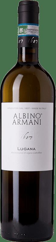 13,95 € Free Shipping | White wine Albino Armani D.O.C. Lugana Veneto Italy Trebbiano di Lugana Bottle 75 cl