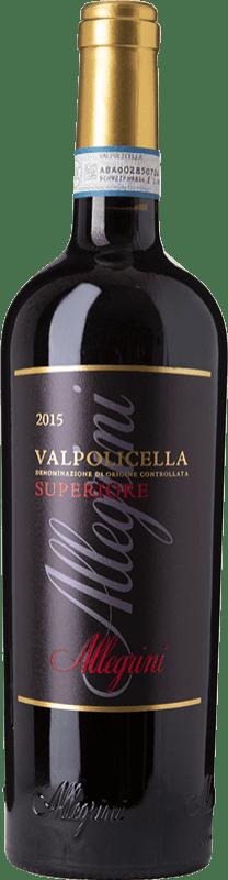 16,95 € Free Shipping   Red wine Allegrini Superiore D.O.C. Valpolicella Veneto Italy Corvina, Rondinella, Oseleta Bottle 75 cl
