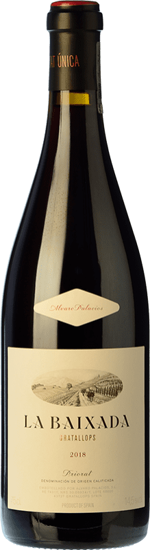 237,95 € Free Shipping | Red wine Álvaro Palacios La Baixada Crianza D.O.Ca. Priorat Catalonia Spain Grenache, Carignan, Grenache White Bottle 75 cl