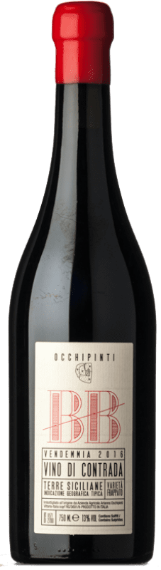 54,95 € Free Shipping   Red wine Arianna Occhipinti BB I.G.T. Terre Siciliane Sicily Italy Frappato Bottle 75 cl