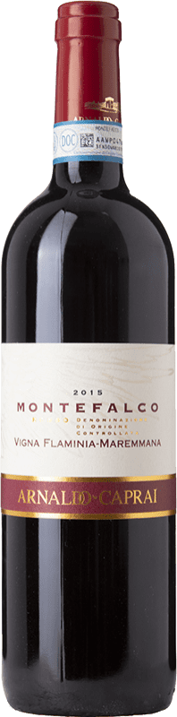 15,95 € Free Shipping | Red wine Caprai Rosso V. Flaminia-Maremmana D.O.C. Montefalco Umbria Italy Sangiovese, Canaiolo, Sagrantino Bottle 75 cl