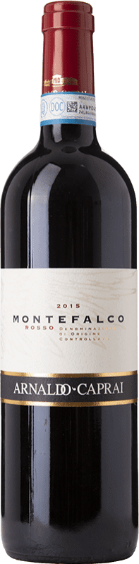 13,95 € Free Shipping | Red wine Caprai Rosso D.O.C. Montefalco Umbria Italy Merlot, Sangiovese, Sagrantino Bottle 75 cl