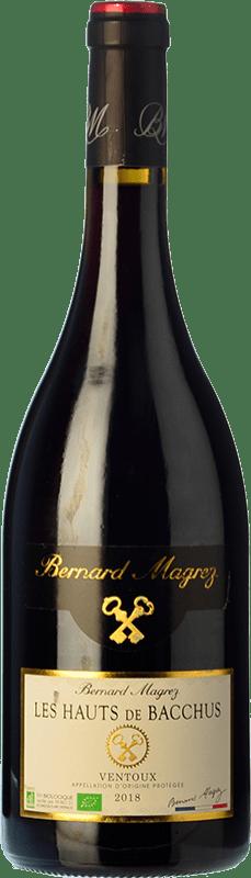 14,95 € Free Shipping   Red wine Bernard Magrez Les Hauts de Bacchus Roble A.O.C. Côtes du Ventoux Rhône France Syrah, Grenache, Carignan, Mourvèdre, Cinsault Bottle 75 cl