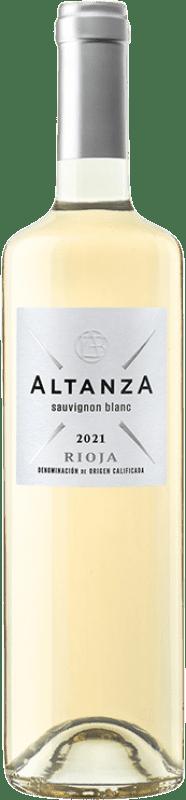 8,95 € Free Shipping | White wine Altanza Blanco D.O.Ca. Rioja The Rioja Spain Viura, Sauvignon White Bottle 75 cl