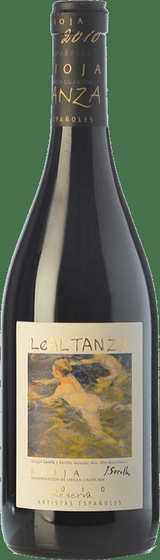 43,95 € Free Shipping | Red wine Altanza Lealtanza Colección Sorolla Reserva D.O.Ca. Rioja The Rioja Spain Tempranillo Bottle 75 cl