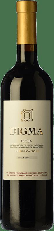 43,95 € Free Shipping | Red wine Castillo de Sajazarra Digma Reserva D.O.Ca. Rioja The Rioja Spain Tempranillo Bottle 75 cl