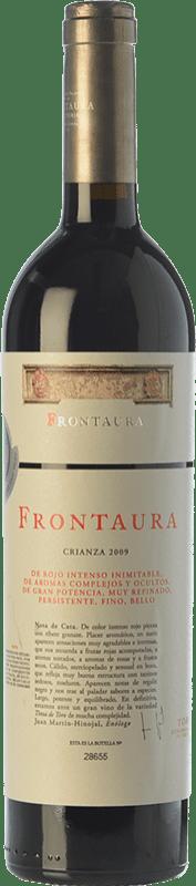 24,95 € Free Shipping | Red wine Frontaura Crianza D.O. Toro Castilla y León Spain Tinta de Toro Bottle 75 cl
