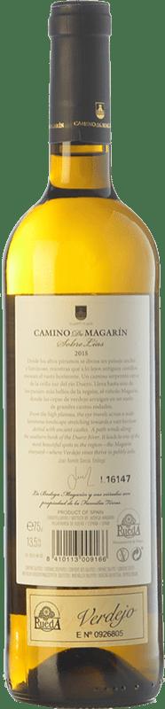 16,95 € Free Shipping | White wine Torres Camino de Magarín Crianza D.O. Rueda Castilla y León Spain Verdejo Bottle 75 cl