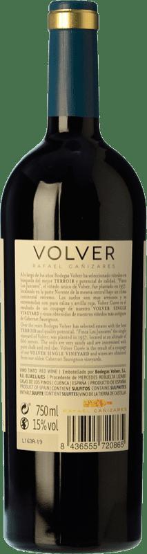 28,95 € Free Shipping   Red wine Volver Cuvée Old Wines Crianza I.G.P. Vino de la Tierra de Castilla Castilla la Mancha Spain Tempranillo, Cabernet Sauvignon Bottle 75 cl