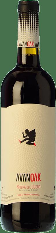 8,95 € Free Shipping   Red wine Juan Manuel Burgos Avan OK Roble D.O. Ribera del Duero Castilla y León Spain Tempranillo Bottle 75 cl