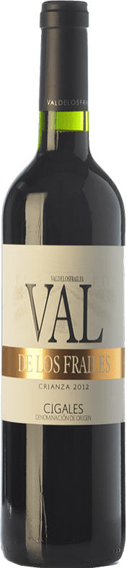 8,95 € Free Shipping | Red wine Valdelosfrailes Crianza D.O. Cigales Castilla y León Spain Tempranillo Bottle 75 cl