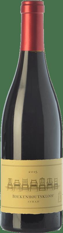 89,95 € Free Shipping | Red wine Boekenhoutskloof Crianza Franschhoek South Africa Syrah Bottle 75 cl
