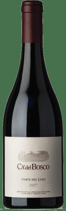 24,95 € Free Shipping   Red wine Ca' del Bosco Corte del Lupo Rosso D.O.C. Curtefranca Lombardia Italy Merlot, Cabernet Franc, Carmenère Bottle 75 cl