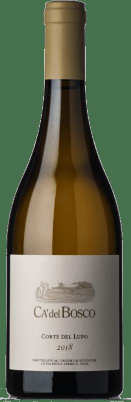 29,95 € Free Shipping   White wine Ca' del Bosco Corte del Lupo Bianco D.O.C. Curtefranca Lombardia Italy Chardonnay, Pinot White Bottle 75 cl