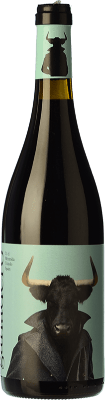 7,95 € Free Shipping | Red wine Canopy Ganadero Tinto Roble D.O. Méntrida Spain Grenache Bottle 75 cl