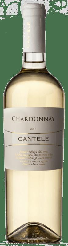 8,95 € Free Shipping   White wine Cantele I.G.T. Salento Puglia Italy Chardonnay Bottle 75 cl