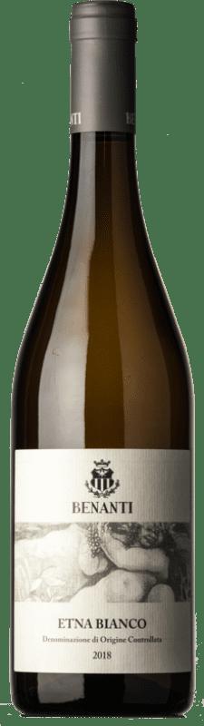 24,95 € Free Shipping   White wine Benanti Bianco D.O.C. Etna Sicily Italy Carricante Bottle 75 cl