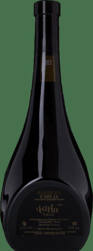 9,95 € Free Shipping | Red wine Ceci Decanta rosso I.G.T. Emilia Romagna Emilia-Romagna Italy Barbera Bottle 75 cl