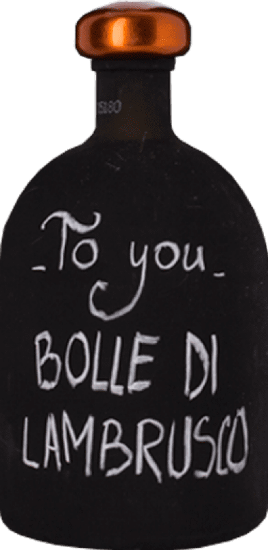 11,95 € Free Shipping | Red wine Ceci Rosso To you Bolle di Lambrusco I.G.T. Emilia Romagna Emilia-Romagna Italy Lambrusco Maestri Bottle 75 cl