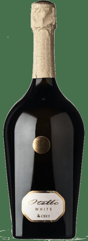 24,95 € Free Shipping | White sparkling Ceci Otello Extradry White Extra Dry I.G.T. Emilia Romagna Emilia-Romagna Italy Pinot White, Sauvignon, Malvasia di Candia Aromatica Magnum Bottle 1,5 L