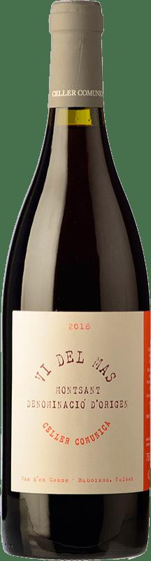 11,95 € Free Shipping | Red wine Comunica Vi del Mas Roble D.O. Montsant Catalonia Spain Syrah, Grenache Bottle 75 cl
