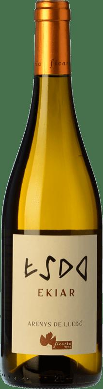 22,95 € Free Shipping | White wine Ficaria Ekiar Crianza Spain Macabeo Bottle 75 cl