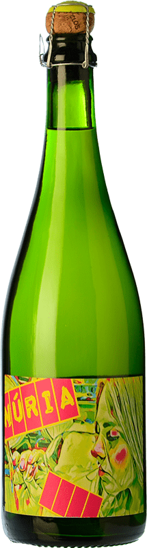 21,95 € Free Shipping | White sparkling Clos Lentiscus Núria Brut Nature D.O. Penedès Catalonia Spain Parellada Bottle 75 cl