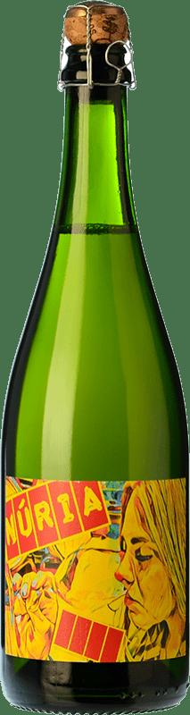 21,95 € Free Shipping | White sparkling Clos Lentiscus Núria Brut Nature D.O. Penedès Catalonia Spain Muscat of Alexandria Bottle 75 cl