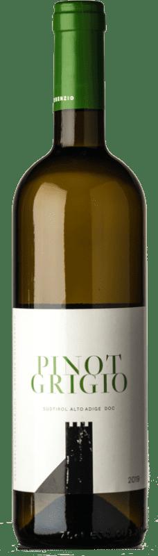 13,95 € Free Shipping | White wine Colterenzio D.O.C. Alto Adige Trentino-Alto Adige Italy Pinot Grey Bottle 75 cl