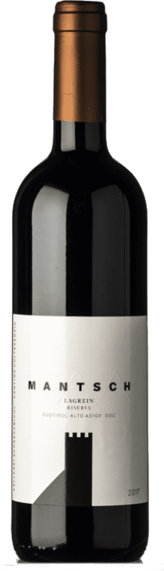 17,95 € Free Shipping | Red wine Colterenzio Riserva Mantsch Reserva D.O.C. Alto Adige Trentino-Alto Adige Italy Lagrein Bottle 75 cl